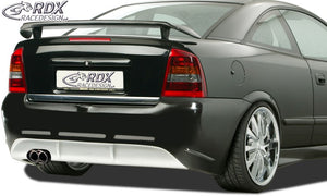 "LK Performance RDX rear spoiler OPEL Astra coupe / convertible ""GT-Race 2"" - LK Auto Factors"