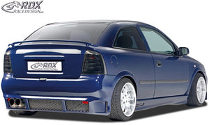 LK Performance RDX Rear Spoiler OPEL Astra G (small version) - LK Auto Factors