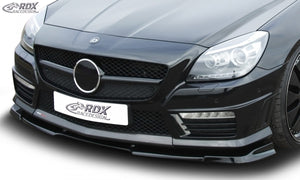 LK Performance RDX Front Spoiler VARIO-X MERCEDES SLK 55 AMG R172 AMG (Fit for AMG and Cars with AMG Frontbumper) Front Lip Splitter - LK Auto Factors