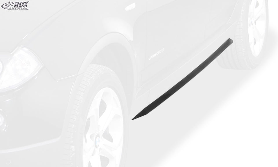 "LK Performance RDX Sideskirts BMW X3 E83 2003-2010 ""Slim"" - LK Auto Factors"