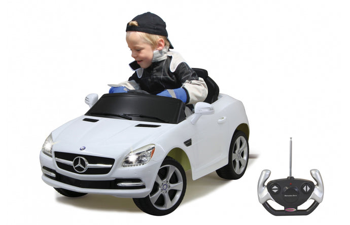 Ride-on Mercedes Benz SLK white