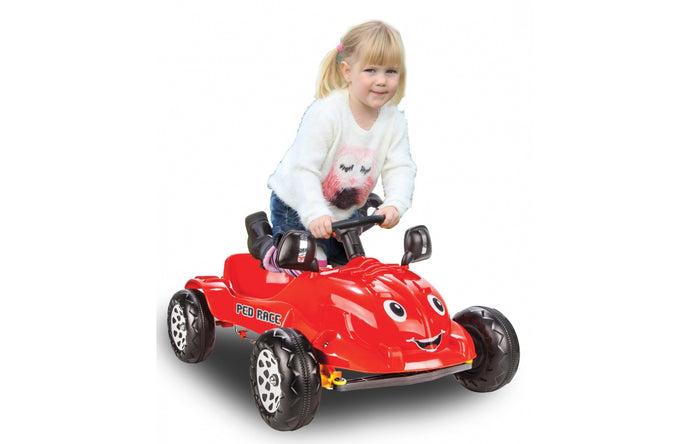 Pedal Car red