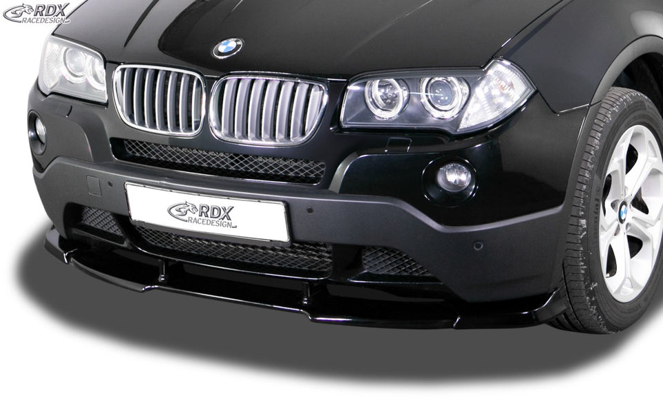LK Performance RDX Front Spoiler VARIO-X BMW X3 E83 2003-2010 Front Lip Splitter - LK Auto Factors