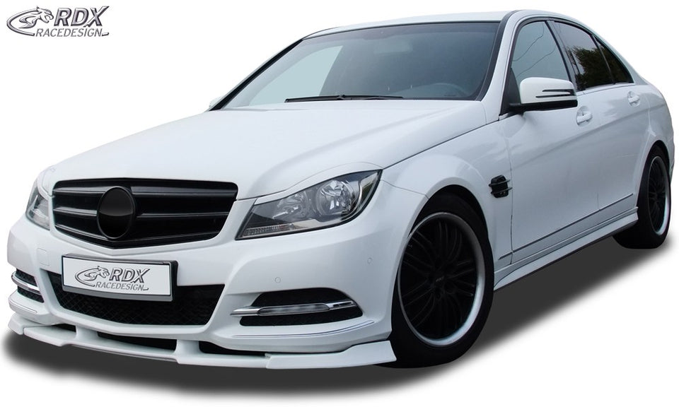 LK Performance RDX Front Spoiler VARIO-X MERCEDES C-class W204 2011+ Front Lip Splitter - LK Auto Factors