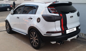 LK Performance RDX Rear Diffusor U-Diff KIA Sportage (SL) - LK Auto Factors