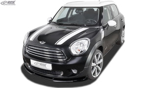 LK Performance RDX Front Spoiler VARIO-X MINI Countryman R60 Front Lip Splitter - LK Auto Factors