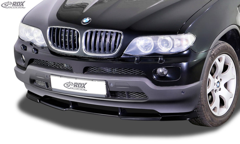 LK Performance RDX Front Spoiler VARIO-X BMW X5 E53 2003+ Front Lip Splitter - LK Auto Factors