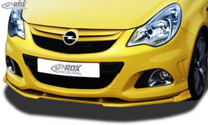 LK Performance RDX Front Spoiler VARIO-X OPEL Corsa D Facelift OPC 2010+ (Fit for OPC and Cars with OPC Frontbumper) Front Lip Splitter - LK Auto Factors