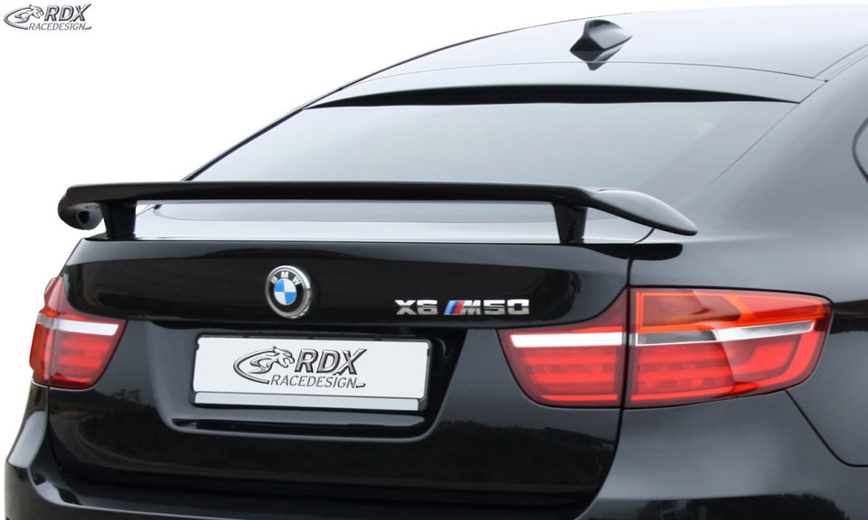 LK Performance RDX rear spoiler KFZ BMW X6 E71 - LK Auto Factors