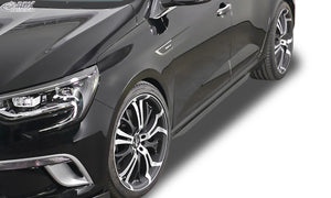 "LK Performance RDX Sideskirts RENAULT Megane 4 Sedan & Grandtour ""Slim - LK Auto Factors"