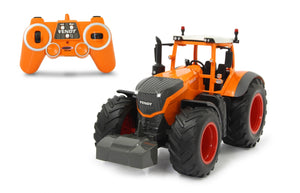 Fully Operational Remote Control Fendt 1050 Vario In Orange 2,4 GHz