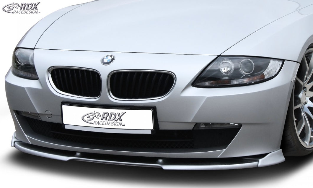 LK Performance RDX Front Spoiler VARIO-X BMW Z4 E85, E86 2006+ Front Lip Splitter - LK Auto Factors