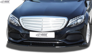 LK Performance RDX Front Spoiler VARIO-X MERCEDES C-class W205 Front Lip Splitter - LK Auto Factors