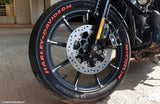 LK Performance Genuine Rubber Raised Harley-Davidson Letters - LK Auto Factors