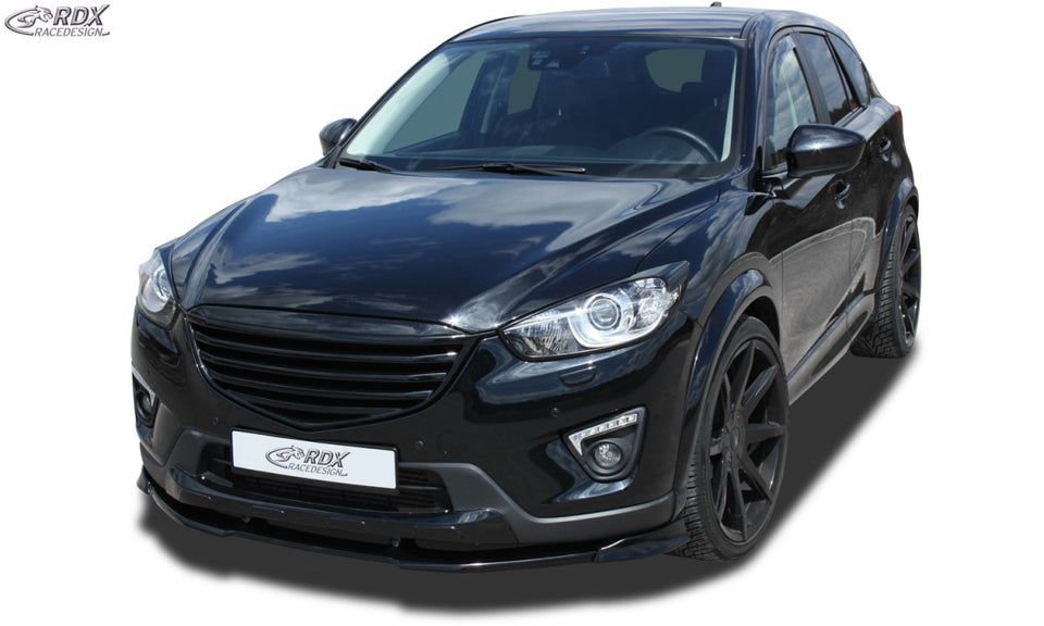 LK Performance RDX Front Spoiler VARIO-X MAZDA CX5 (for cars with front diffuser) Front Lip Splitter - LK Auto Factors