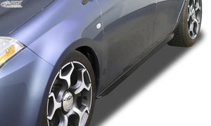"LK Performance RDX Sideskirts FIAT Bravo (198) 2007-2014 ""Slim"" - LK Auto Factors"