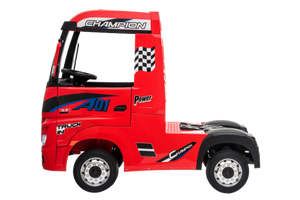 New 2019 12V Licensed Mercedes Artic Truck Red - LK Auto Factors