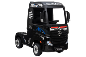 New 2019 12V Licensed Mercedes Artic Truck Black - LK Auto Factors
