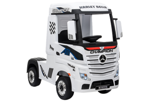 New 2019 12V Licensed Mercedes Artic Truck White - LK Auto Factors