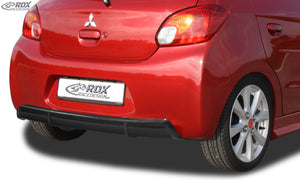 LK Performance RDX rear bumper extension MITSUBISHI Space Star & Mirage -2016 Diffusor - LK Auto Factors