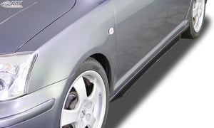 "LK Performance RDX Sideskirts TOYOTA Avensis (T25) 2003-2009 ""Turbo"" - LK Auto Factors"