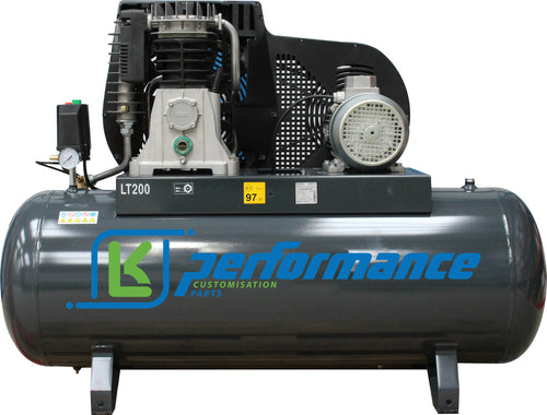 New 2021 LK Performance 200L Litre Air Compressor