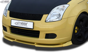 LK Performance RDX Front Spoiler VARIO-X SUZUKI Swift MZ/EZ 2005-2008 Front Lip Splitter - LK Auto Factors