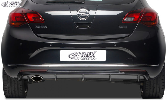 LK Performance RDX rear bumper extension OPEL Astra J Diffusor - LK Auto Factors