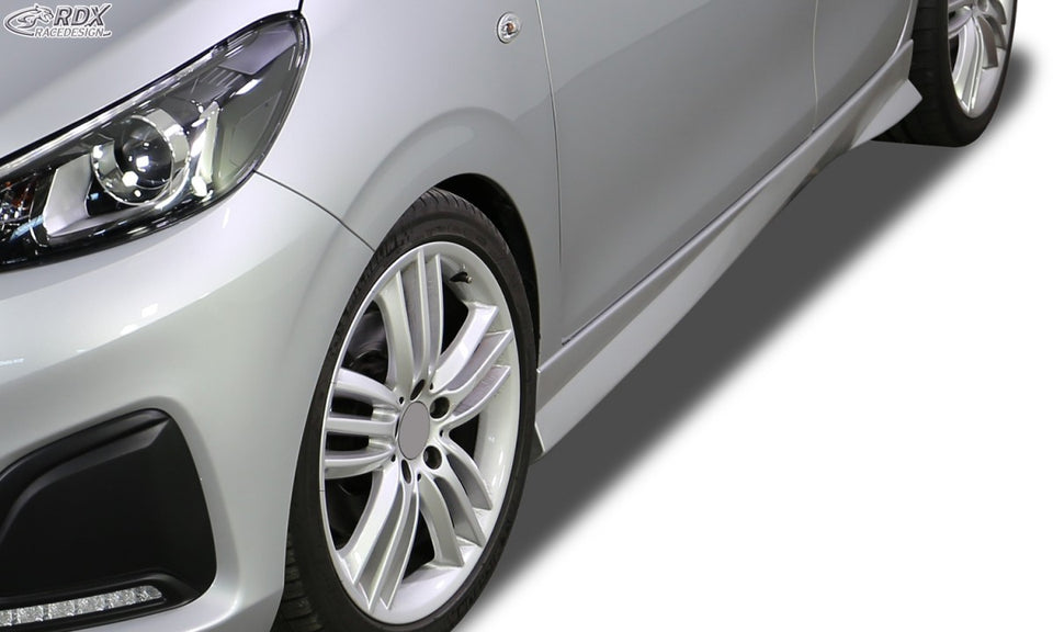 "LK Performance RDX Sideskirts PEUGEOT 108 ""Turbo"" - LK Auto Factors"