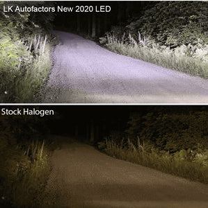 NEW 2021 H7 LED HEADLIGHT CONVERSION KIT [ENERGY CLASS A+++]