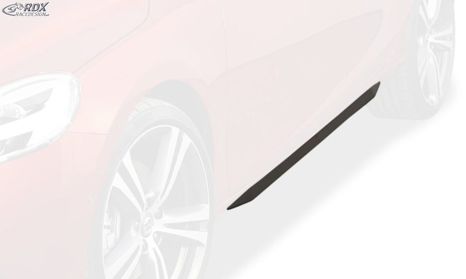 "LK Performance RDX Sideskirts VOLVO V40 2012+ ""Slim - LK Auto Factors"