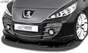 LK Performance RDX Front Spoiler VARIO-X PEUGEOT 207 with Abbes-Front Front Lip Splitter - LK Auto Factors
