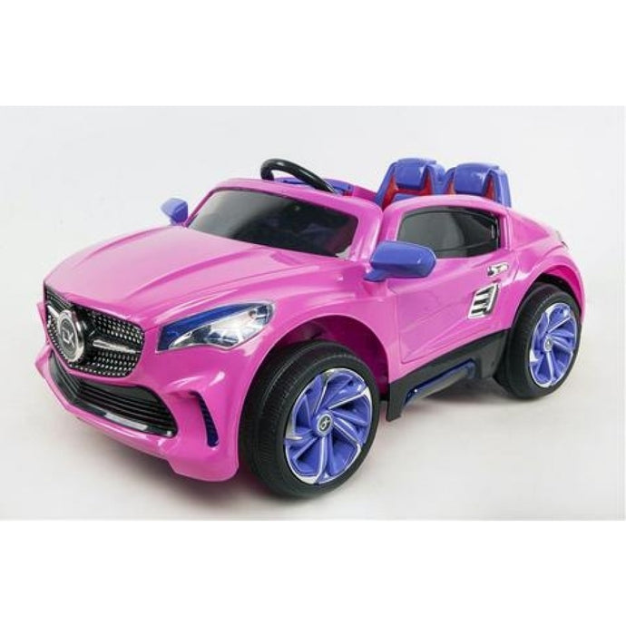 Mercedes Benz 12V Pink Ride On With Leather Seats - LK Auto Factors