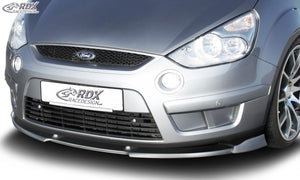 LK Performance RDX Front Spoiler VARIO-X FORD S-Max (Type WA6) Front Lip Splitter - LK Auto Factors