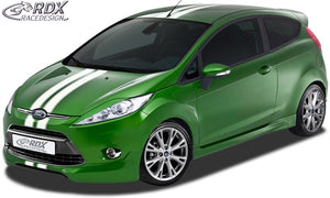 LK Performance RDX Front Spoiler FORD Fiesta MK7 JA8 JR8 (2008-2012) - LK Auto Factors