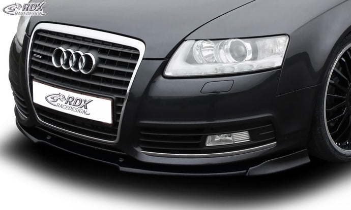LK Performance front spoiler VARIO-X AUDI A6 4F 2008-2011 front lip front attachment - LK Auto Factors