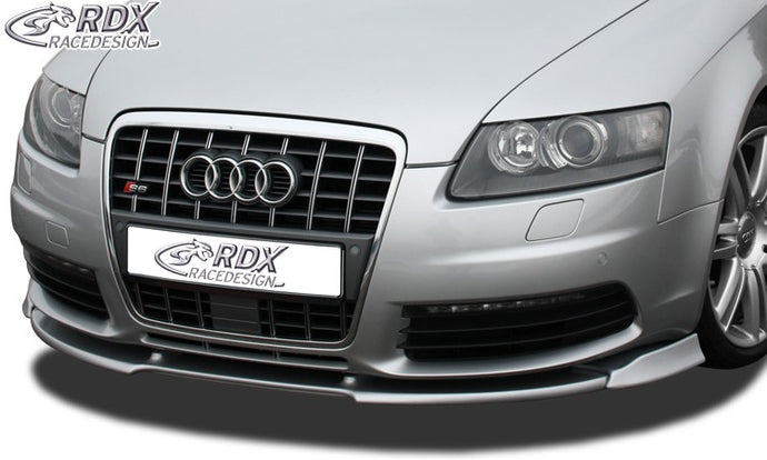 LK Performance front spoiler VARIO-X AUDI S6 4F front lip front attachment - LK Auto Factors