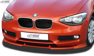 LK Performance RDX Front Spoiler VARIO-X BMW 1-series F20 / F21 2011-2015 Front Lip Splitter - LK Auto Factors