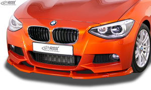 LK Performance RDX Front Spoiler VARIO-X BMW 1-series F20 / F21 2011-2015 (M-Package and M-Technik Frontbumper) Front Lip Splitter - LK Auto Factors