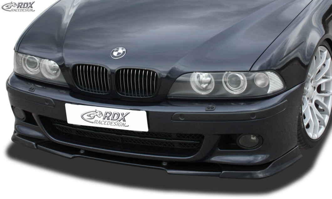LK PerformanceRDX Front Spoiler VARIO-X BMW 5-series E39 M5 and M-Technik Frontbumper Front Lip Splitter - LK Auto Factors