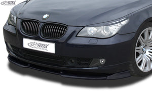 LK Performance RDX Front Spoiler VARIO-X BMW 5-series E60 / E61 2007+ Front Lip Splitter - LK Auto Factors