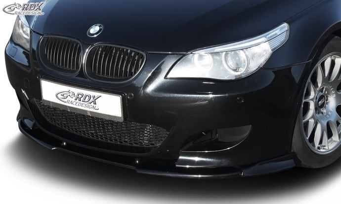 LK Performance RDX Front Spoiler VARIO-X BMW 5-series E60 M5 Front Lip Splitter - LK Auto Factors
