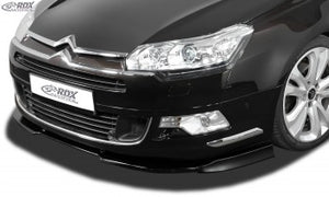 LK Performance front spoiler VARIO-X CITROEN C5 2008+ front lip front attachment front spoiler lip - LK Auto Factors
