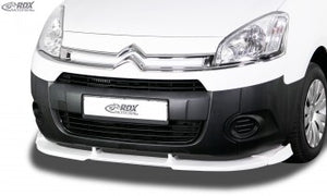 LK PerformanceRDX front spoiler VARIO-X CITROEN Berlingo 2008-2015 (type 7) / PEUGEOT Partner 2008-2015 (type 7) - LK Auto Factors