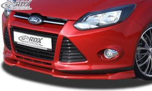 LK Performance RDX Front Spoiler VARIO-X FORD Focus 3 Front Lip Splitter - LK Auto Factors