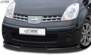 LK Performance RDX Front Spoiler VARIO-X NISSAN Note (E11) 2005-2009 Front Lip Splitter - LK Auto Factors