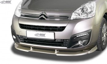 LK Performance Front spoiler VARIO-X CITROEN Berlingo 2015-2018 (type 7) / PEUGEOT Partner 2015-2018 (type 7) - LK Auto Factors