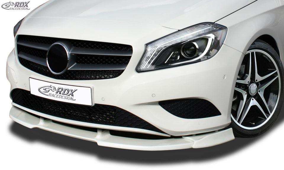 LK Performance RDX Front Spoiler VARIO-X MERCEDES A-Class W176 (2012-2015) Front Lip Splitter - LK Auto Factors