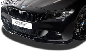 LK Performance RDX Front Spoiler VARIO-X BMW 5-series F10 / F11 M-Technic -2013 Front Lip Splitter - LK Auto Factors