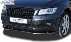 LK Performance front spoiler VARIO-X AUDI Q5 -2012 & 2012+ (S-Line front bumper) front lip front attachment front spoiler lip - LK Auto Factors